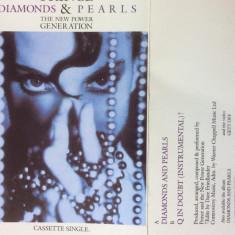 PRINCE - Diamonds And Pearls   - Caseta Audio Originala ( WB )