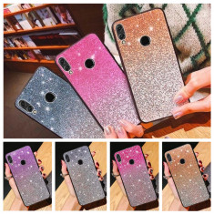 Husa cu sclipici pt Samsung Galaxy A10 , A20e , J4+ , J4 Plus , J6+ , J6 Plus