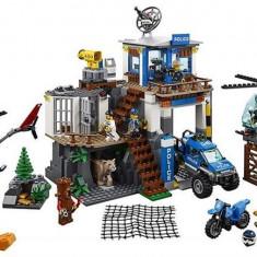Set Lego City Mountain Police Headquarters