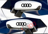 Sticker oglinda AUDI (set 2 buc.)