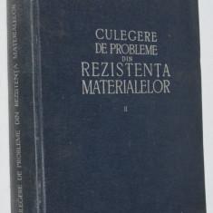 Culegere de probleme din rezistenta materialelor vol. 2 1963