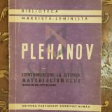 Contributiuni la istoria materialismului - G V Plehanov