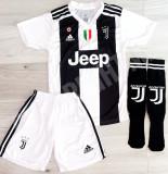 Compleu Echipament fotbal pentru copii RONALDO Juventus, YXS, YXXL, Tricou + Pantalon