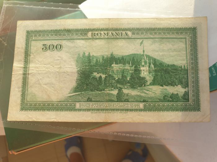 500 lei 1934 FOARTE RARA
