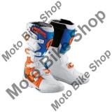 MBS Cizme motocross SCOTT 350, alb/portocaliu, 9=42-43, Cod Produs: 23776210299AU