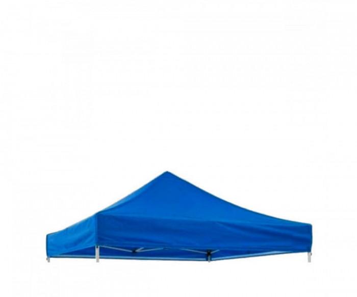 Prelata acoperis cort 3 x 3 m ,impermeabila, Albastru