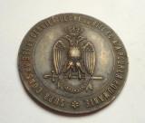 Medalie Romania Regalista MASONICA Bucuresti 1926 RARITATE Piesa de Colectie