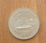 ITALIA 200 LIRE 1989 COMEMORATIVA