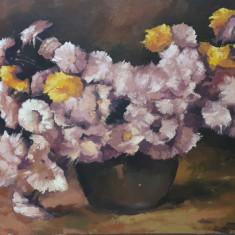 tablou pictura -flori