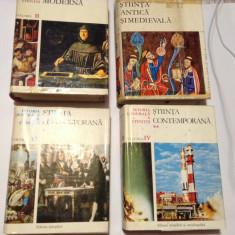 Istoria Generala A Stiintei. 4 Volume - Rene Taton (coordonator)
