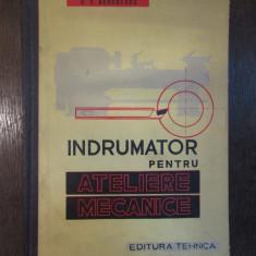 INDRUMATOR PENTRU ATELIERE MECANICE-G.S. GEORGESCU