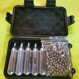 AIRSOFT 1.000 bile metalice 6 .00 mm + 5 butelii swiss arms -CITITI ANUNTUL -