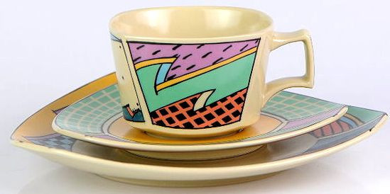 Set mic dejun cu semnatura Rosenthal Studio Line, Dorothy Hafner