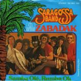 "Saragossa Band - Zabadak (1979, Ariola) Disc vinil single 7"""