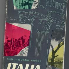 Italia, Mihai Gheorghe Andries