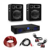 Cumpara ieftin Electronic-Star Amplificator HiFi și set de boxe format din 3 piese, amplificator digital, boxe și inclusiv cabluri