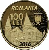 Moneda Aur 575 de ani Iancu de Hunedoara voievod al Transilvaniei