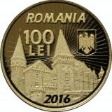 Romania 100 Lei Iancu de Hunedoara 2016  AUR  proof