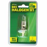 Bec auto cu halogen pentru far H1, 12V, 55 W