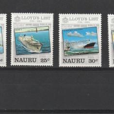 Transporturi ,navigatie ,catastrofe ,Lloyds ,Nauru., Nestampilat