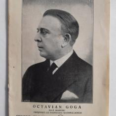 OCTAVIAN GOGA: PARTICIPAREA LA ALEGERILE DIN 1932