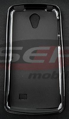 Toc plastic siliconat HTC Desire 530 NEGRU