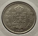 100 Lei 1936 Nichel, Romania XF
