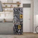 Sticker Tapet Autoadeziv pentru frigider, 210 x 90 cm, KM-FRIDGE-31