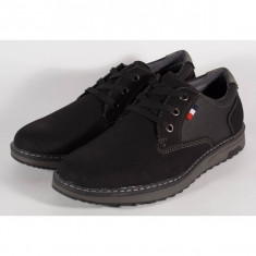 Pantofi barbati/barbatesti office negri (cod 054151)