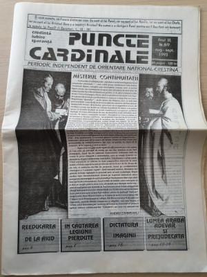 puncte cardinale august-septembrie 1993-ziar legionar,corneliu zelea codreanu foto