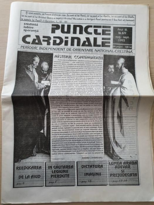 puncte cardinale august-septembrie 1993-ziar legionar,corneliu zelea codreanu