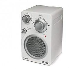 Radio Denver TR-43 C Portable Boombox Stereo  (Vintage Design, AUX, FM)