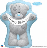"Balon folie figurina ""Happy Birthday"" Me to You - 36""/91cm, Qualatex 16624"