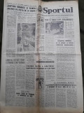 Ziarul Sportul din 9 februarie 1977