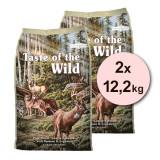 Cumpara ieftin TASTE OF THE WILD Pine Forest 2 x 12,2 kg