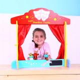 Teatru de papusi din lemn PlayLearn Toys