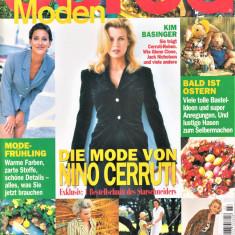 Burda Revista Moda, Insert Limba Romana, 58 tipare 3/1998(croitorie)
