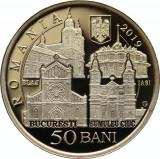 Moneda Alama 50 Bani -Vizita Sanctității Sale Papa Francisc în România