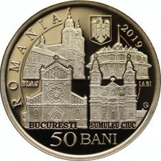 Romania 50 Bani PROOF 2019 -  Vizita Papei Francisc
