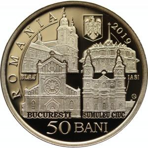 50 bani 2019 PROOF Papa Francisc