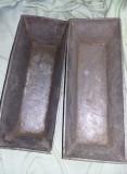 2 forme cozonac,pandispan,chec,forma veche cozonac Turnata,tavi cuptor ,T.GRATUi