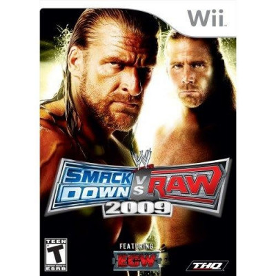 WWE Smackdown vs Raw 2009 Wii foto