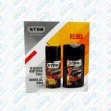 Casetă Cadou STR8 Rebel, Deodorant + Gel de Duș