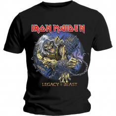 Tricou Iron Maiden: Eddie Chained Legacy