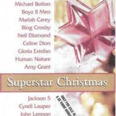 Caseta Superstar Christmas  , originala. Muzica de Craciun.
