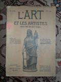 """Revista """"L'art et les artistes"""" nr.22/1907"""