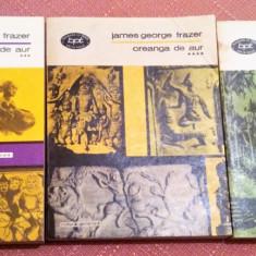 Creanga de aur Vol. 3, 4, 5.  B.P.T. Nr. 1042, 1043, 1044 - James George Frazer