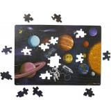 Puzzle carton Spatiul Melissa & Doug, 100 piese, 6 ani+