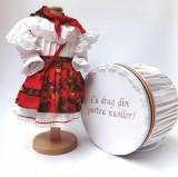 Cumpara ieftin Set Botez Traditional - Adeline 4 - 2 piese costumas si cufar brodat
