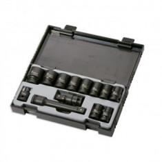 "Set 13 chei tubulare de impact, JBM JB-52341, 1/2"", 10-24 mm, adaptor, prelungitor, Hex"